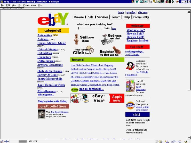 eBay in 1995
