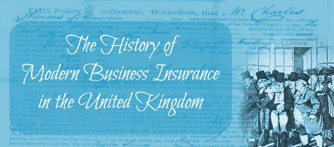 History of Insurance UK