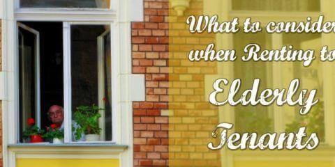 Renting To Elderly Tenants