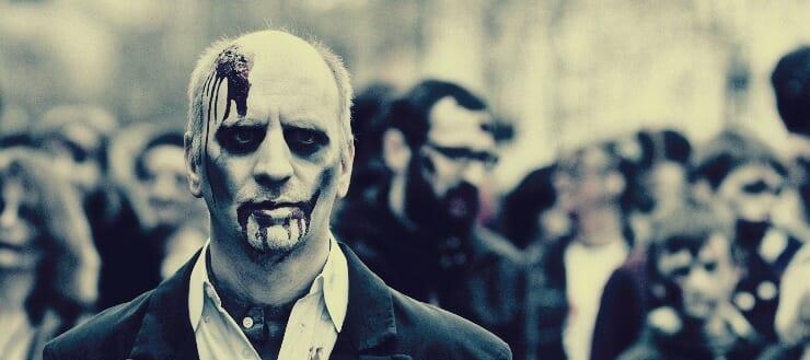 Zombie Scare Actor